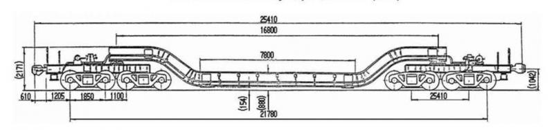 8 осный транспортер площадочного типа набережночелнинского элеватора